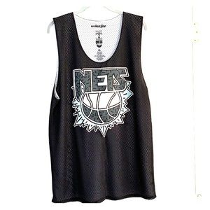 Other - Men's black and white Nets tank top